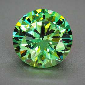 Demantoid mit 2.5 - 2.6 mm