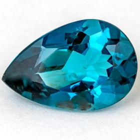 Topas in London Blue mit 8.04 Ct