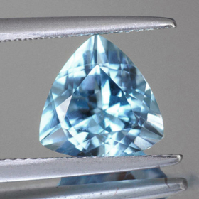 Topas-Trilliant Sky Blue 5 mm, ca. 0.50 Ct